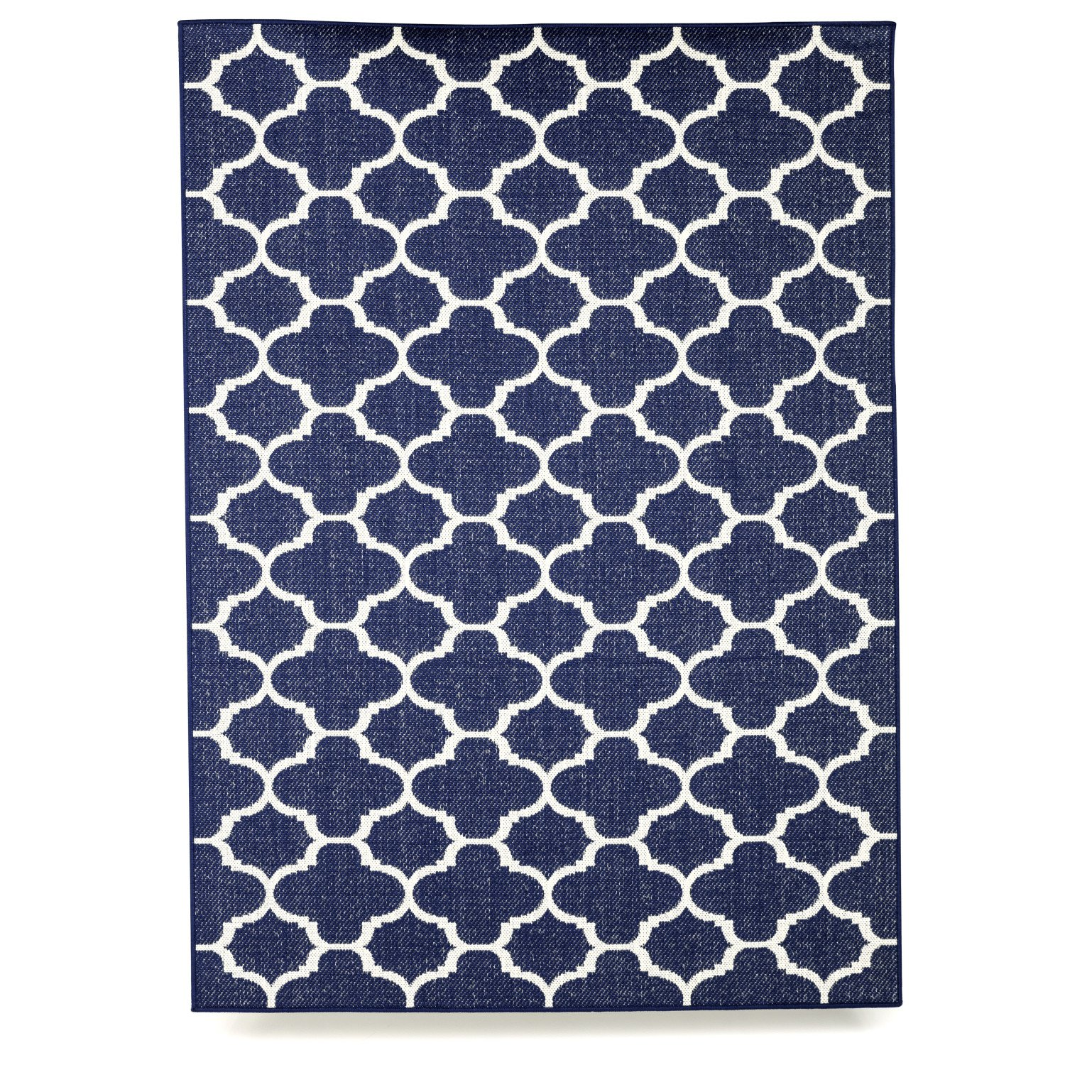 Budge Winchester Outdoor Patio Rug, RUG810RB3 (8' Long x 10' Wide, Royal Blue)