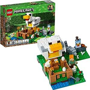 LEGO Minecraft? 21140 Le poulailler: Amazon.es: Juguetes y juegos