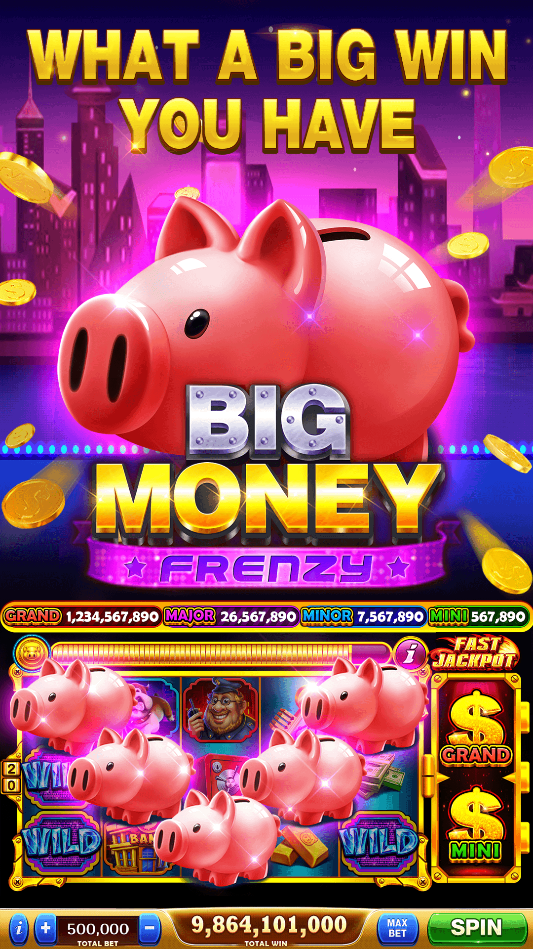 Amazon.com: Cash Frenzy Casino - Free Slots & Casino Games: Appstore for Android