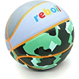 REBOIL Super Grip Basketball (Size 4 Kids & Pets, Size 5 Youth, Size 6 WNBA, Size 7 NCAA & NBA) – Indoor and Outdoor Rubber/P