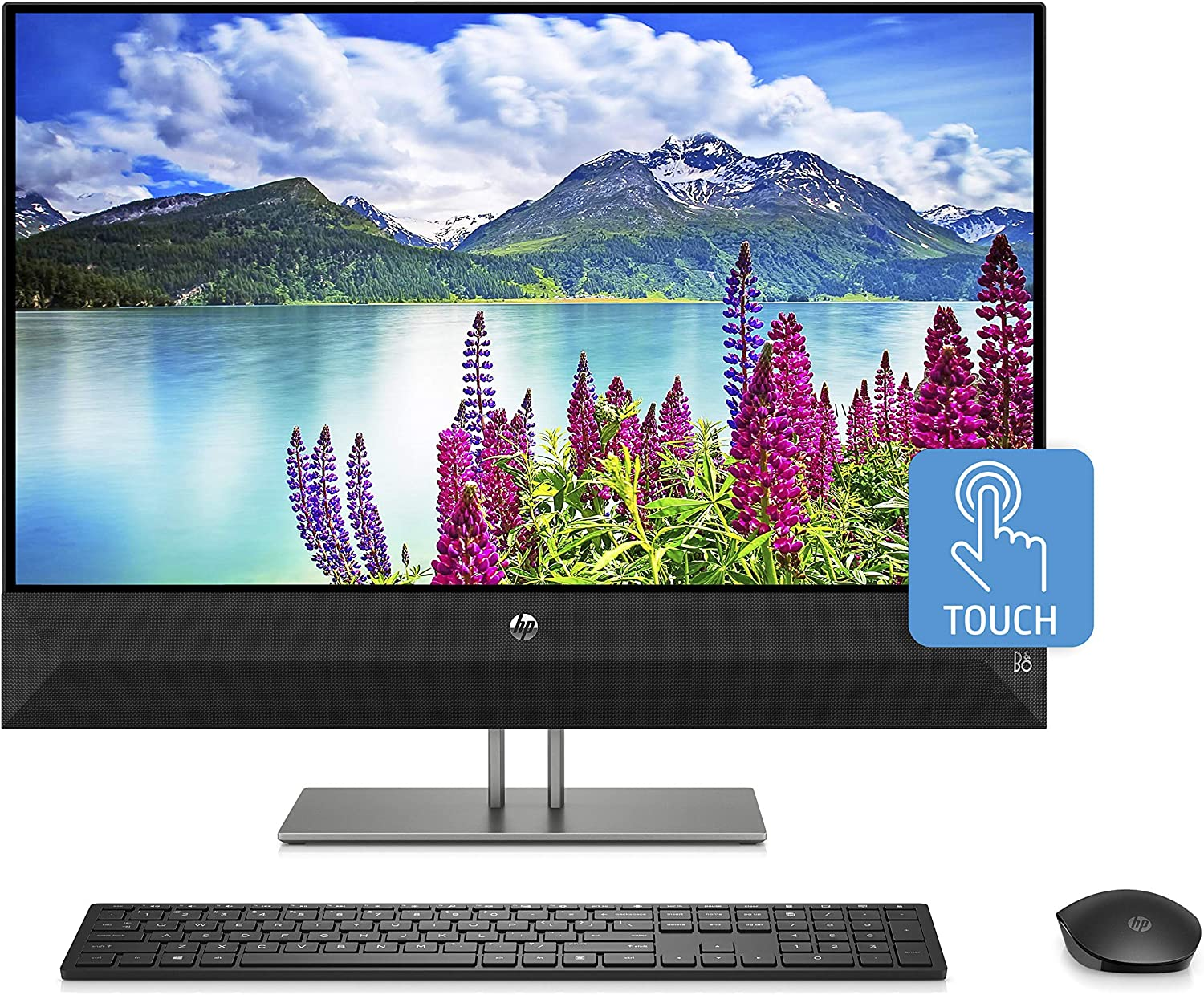 "HP 24-xa0053w 23.8"" FHD i5-8400T 1.70GHz 4GB RAM 1TB HDD Win 10 Home Black"