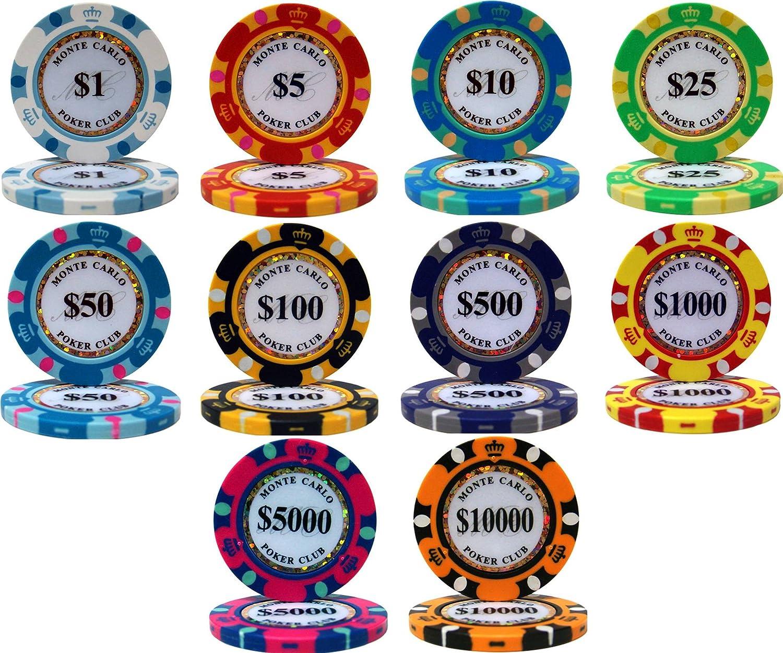 China clay vs ceramic poker chips online