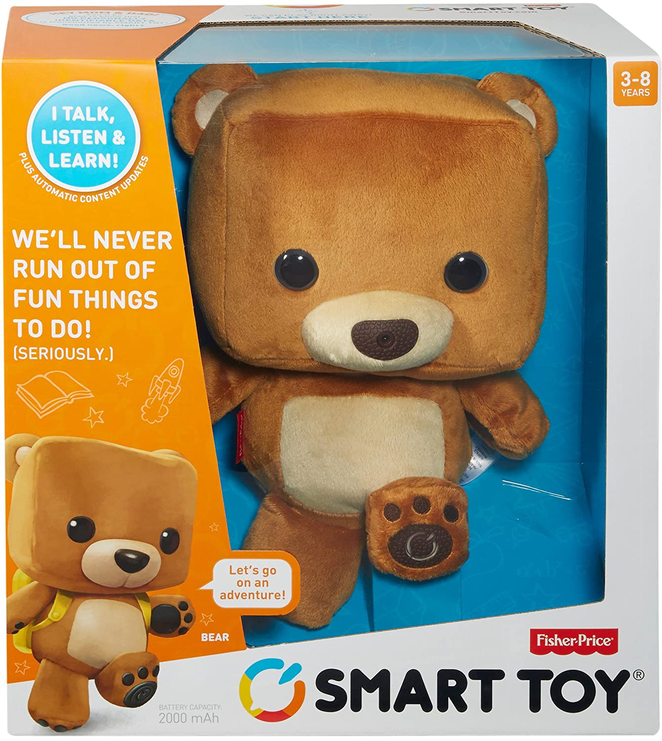 Fisher Price Smart Toy Bear Amazon Toys & Games