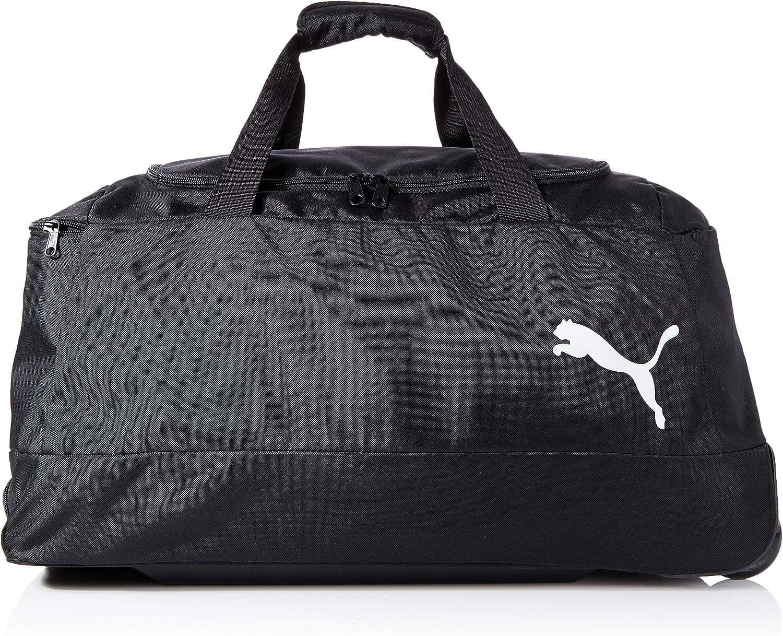 Puma Pro Training II Medium Wheel Sporttasche mit Rollen Schwarz