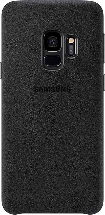 Samsung Alcantara Cover Für Das Galaxy S9 Schwarz Elektronik