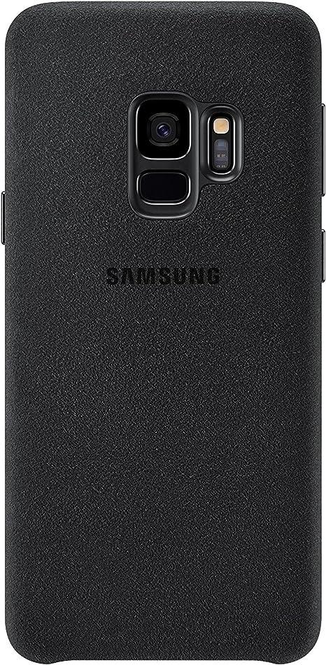 Samsung Alcantara Cover – Funda para Galaxy S9, color negro: Samsung: Amazon.es: Electrónica