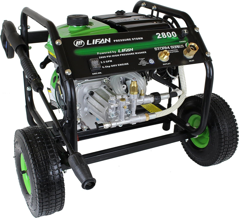 Amazon Com Lifan Lf2865 Lfq2865 Storm Pressure Washer 2800 Psi Garden Outdoor