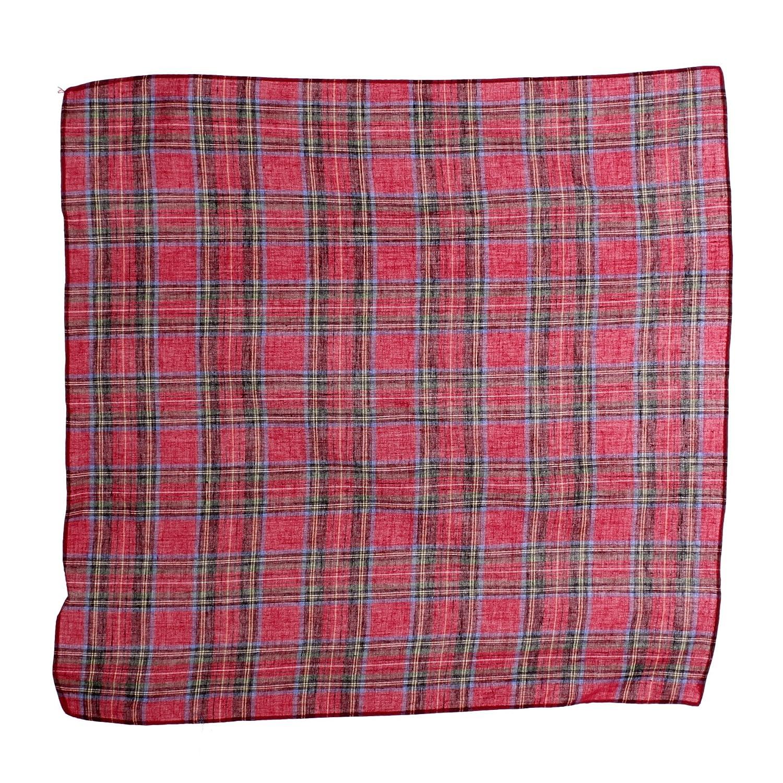 Gift Boxed 6 Pack OCTAVE/® Mens 100/% Cotton Tartan Print Handkerchiefs