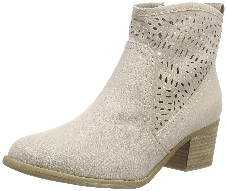 Beige (Dune Comb 435) MARCO TOZZI Damen 25400 Kurzschaft Stiefel