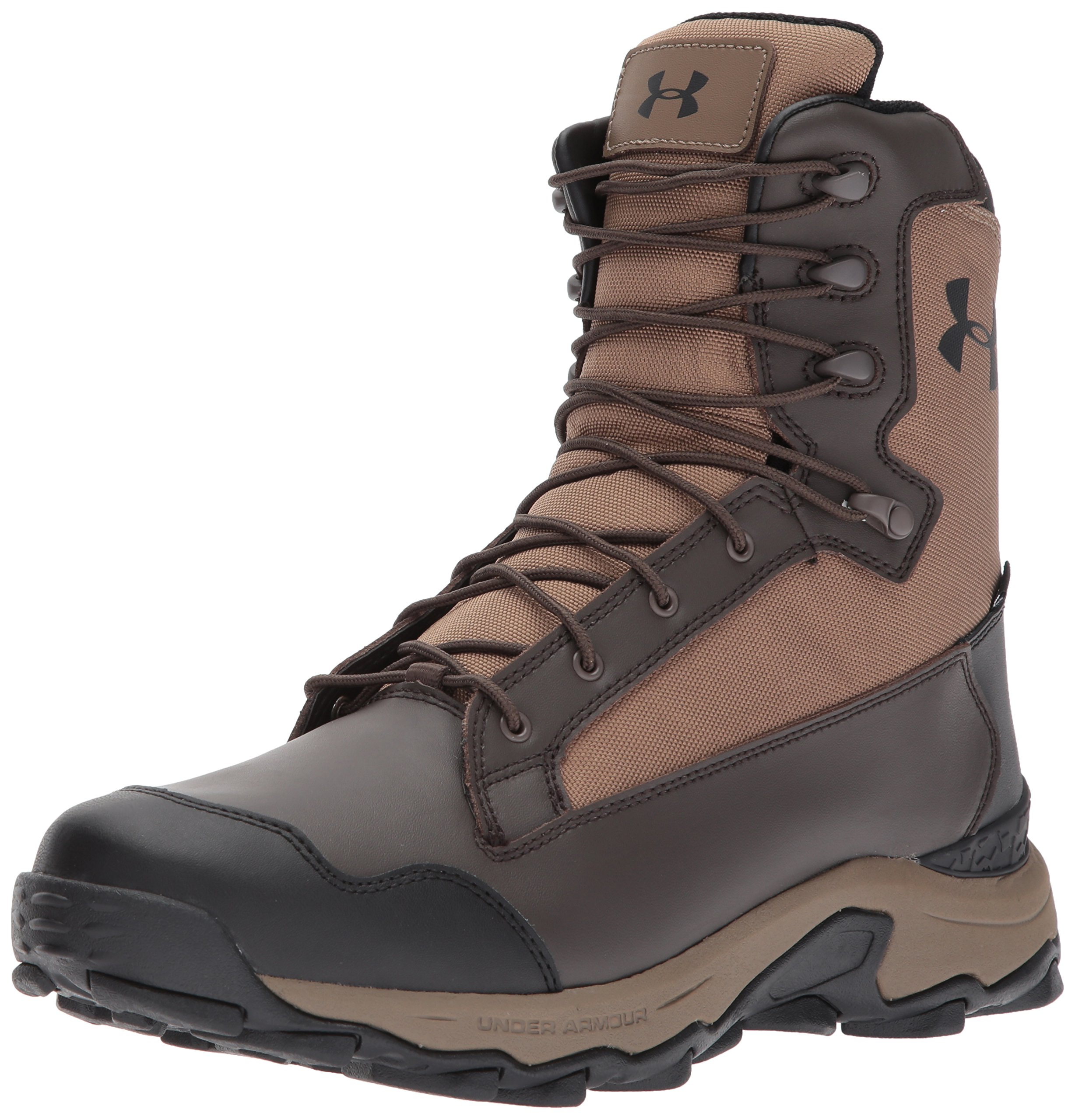 Under Armour Men's Tanger Waterproof-400G Ankle Boot, Uniform (225)/Maverick Brown, 14