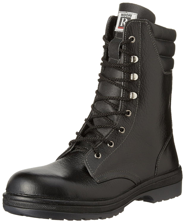 [ミドリ安全] 安全靴 長編上 RT930 B002P7067I 25.5 cm|ブラック