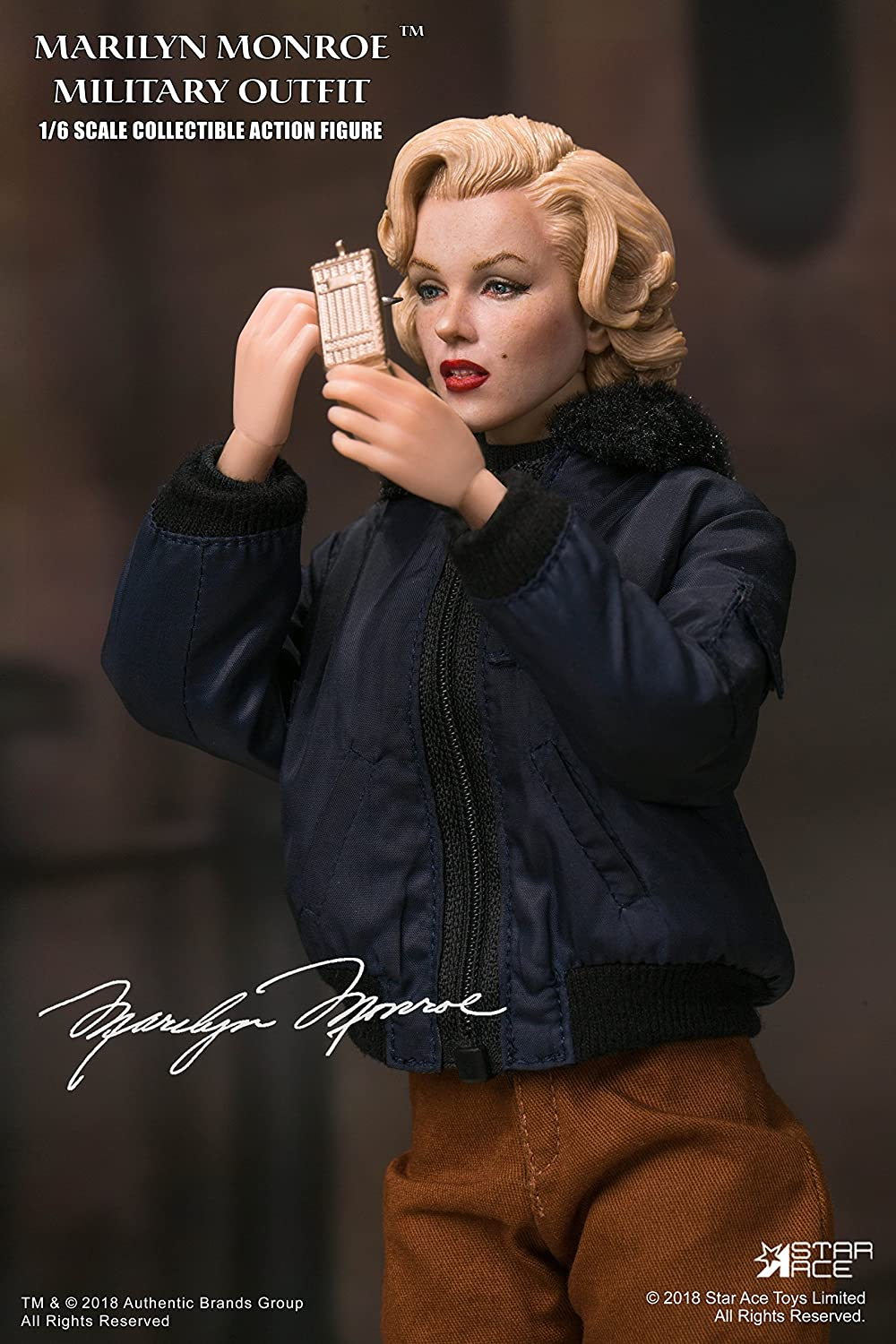 Star Ace Toys Marilyn Monroe Military Outfit Version 1 6 Scale Action Figure DCME7 APR188321