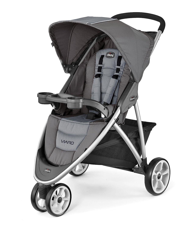 Chicco Viaro Quick-Fold Stroller, Graphite 06079746210070