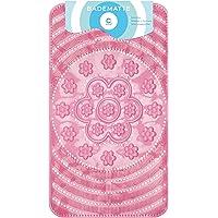 Circulators Alfombrilla para bañera 66x 38cm rosa diseño