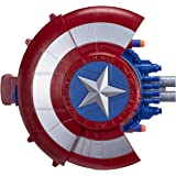 Marvel Avengers Captain America Toy - Nerf Blaster Reveal Shield - Civil War Roleplay Playset