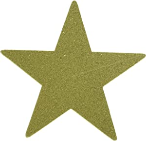amscan Star Cutouts | Gold | Party Decor | 40 Ct.