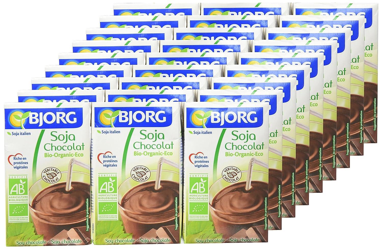 Bjorg Mini Bebida de Soja y Chocolate - Paquete de 9 x 750 ml ...