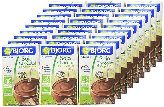 Bjorg Mini Bebida de Soja y Chocolate - Paquete de 9 x 750 ml - Total: 6750 ml: Amazon.es: Alimentación y bebidas