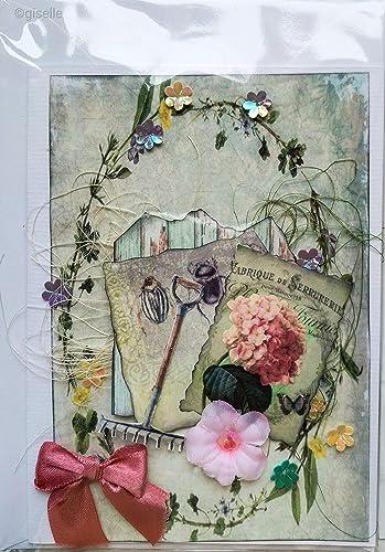 Tarjeta 128 jardineria de creacion-giselle.com: Amazon.es ...