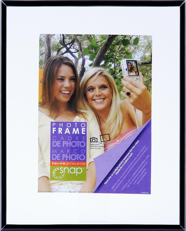Amazon.com - Snap Black Flex Float Frame, 11-Inch by 14-Inch ...