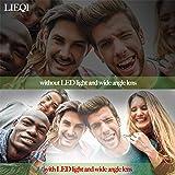 LIEQI Compatible Camera lens 3in1 selfie light