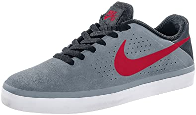 Nike Paul Rodriguez CTD LR Mens Skateboarding Shoe Grey/Gym Red/Anthrct
