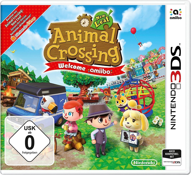 Animal Crossing: New Leaf - Welcome Amiibo Editon (Mit Amiibo Karte) [Importación Alemana]: Amazon.es: Videojuegos
