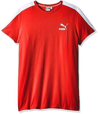 9beef790d9f Amazon.com: PUMA Men's Archive T7 Stripe T-Shirt: Clothing