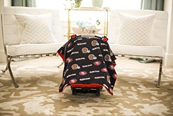 Carseat Canopy NFL San Francisco 49ers Baby Infant Car Seat Cover