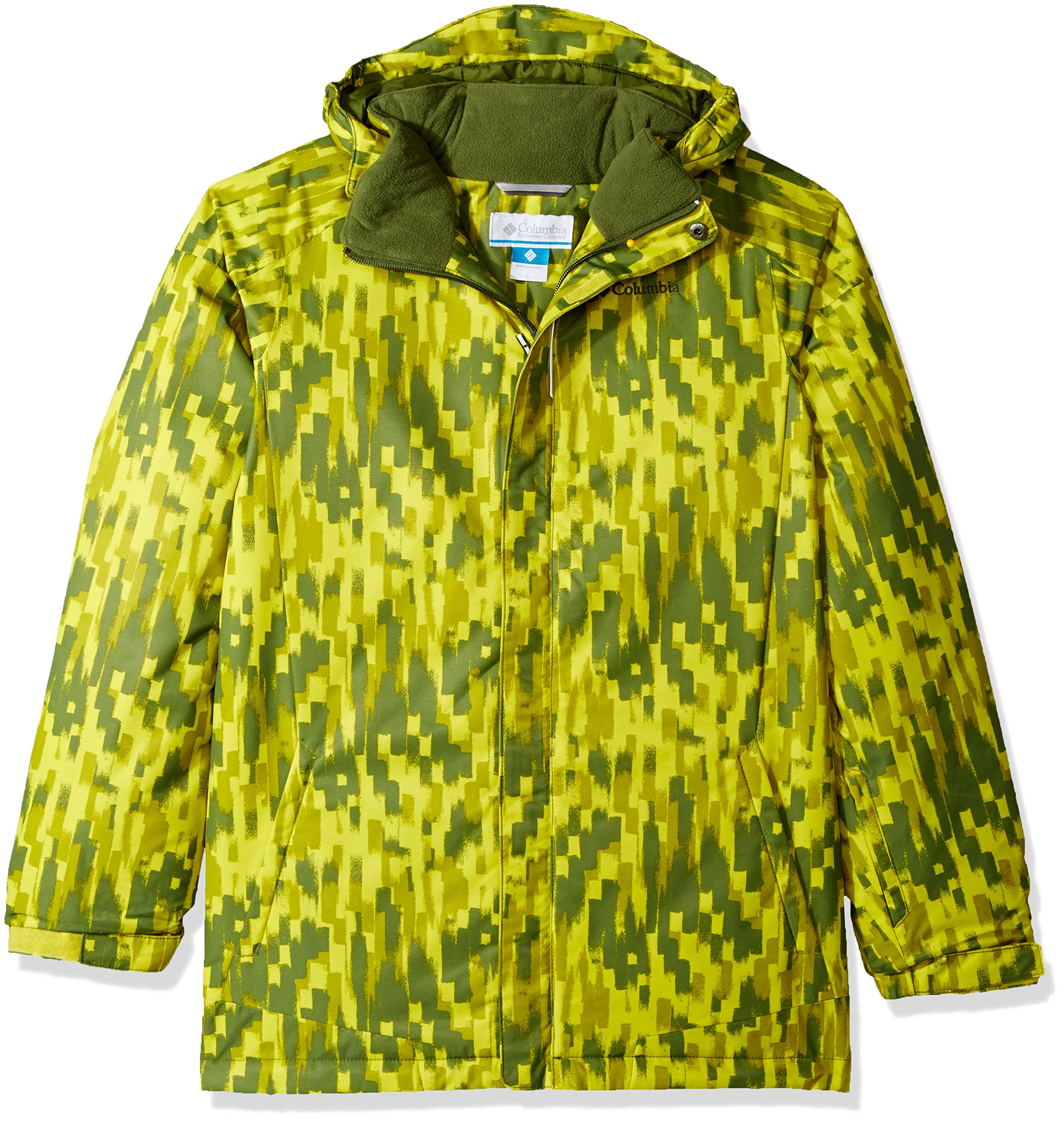 Columbia Boys Twist Tip Jacket, Ginkgo Brushed Strokes, XX-Small by Columbia