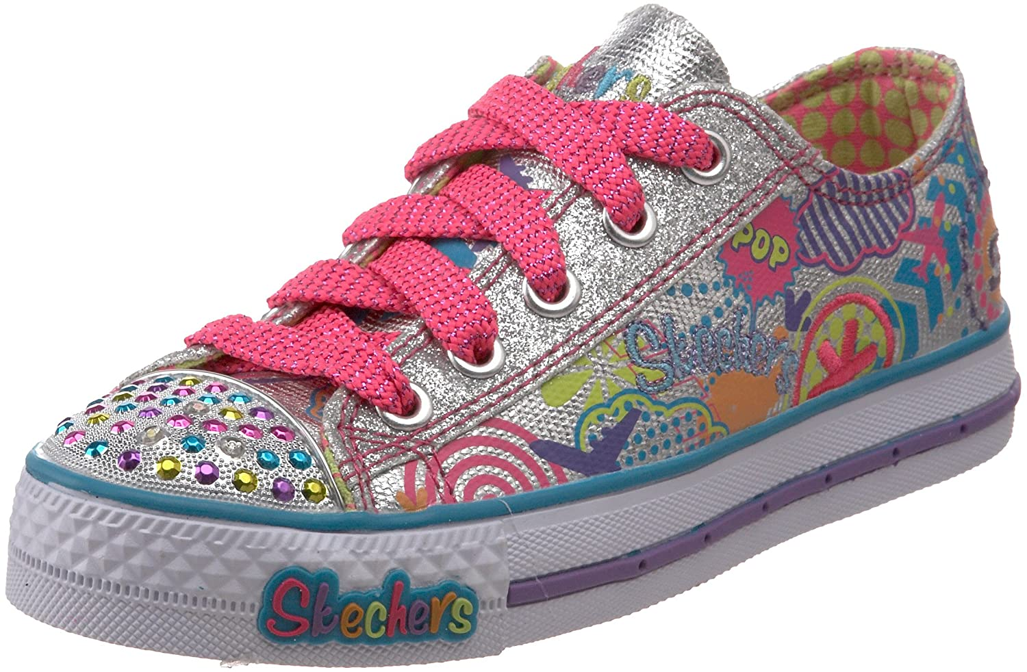 girls skechers twinkle toes shoes