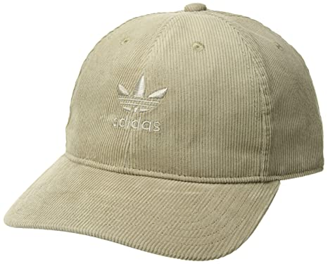 4550f1289f6 Amazon.com  adidas Men s Originals Relaxed Corduroy Cap
