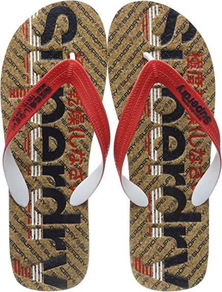 Superdry Cork Colour Pop Flip Flop, Chanclas para Hombre: Amazon ...