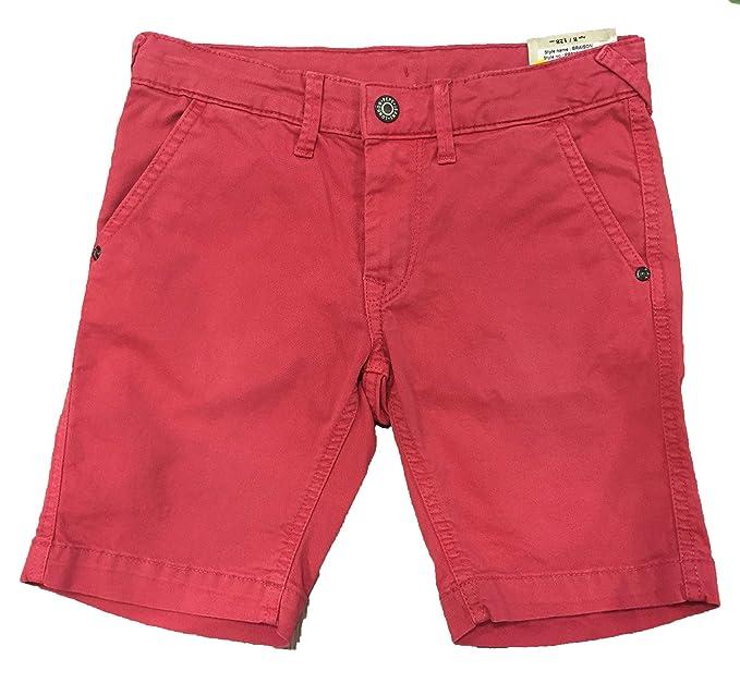 363033e936ce Bermuda Pepe Jeans Garçon Braison 800137 Rouge 213  Amazon.fr  Vêtements et  accessoires