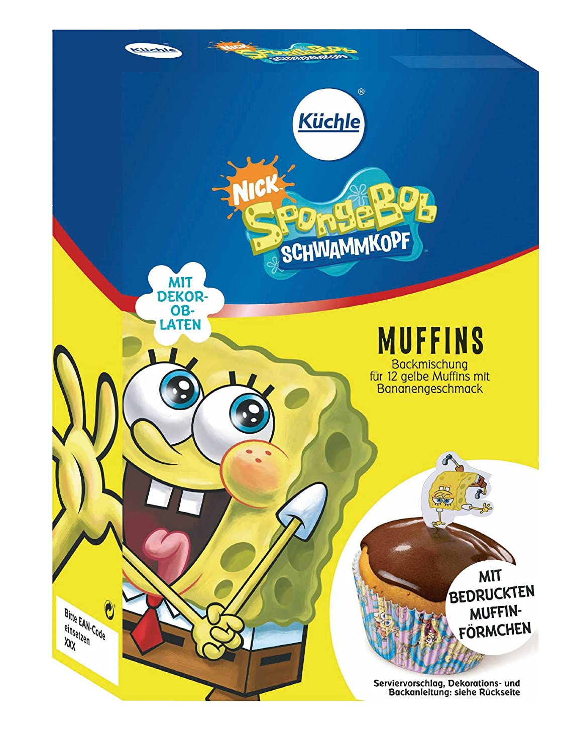 Spongebob Backmischung Spongebob Muffins Amazon De Lebensmittel
