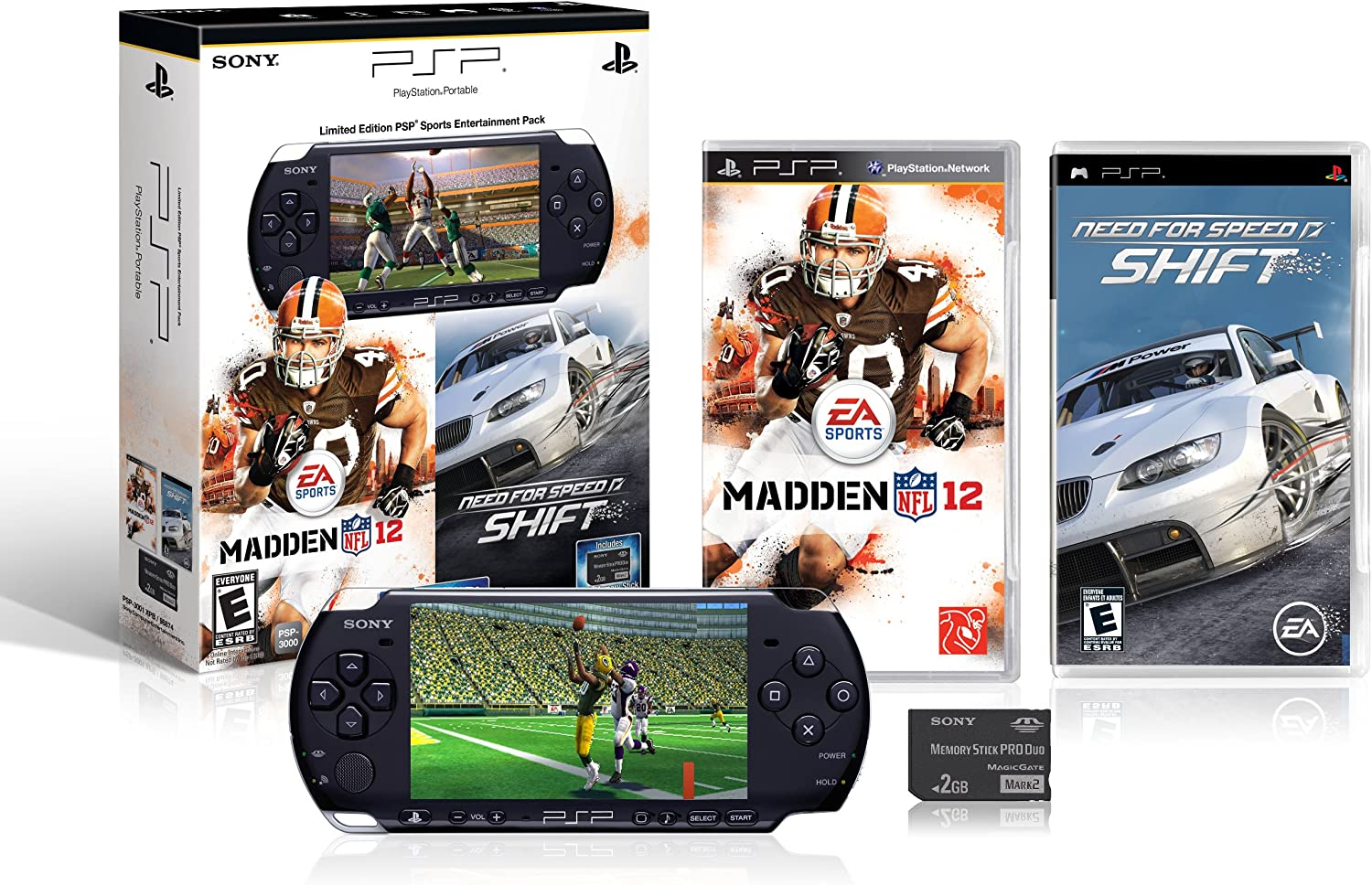 Amazon com: Limited Edition PSP Sports Entertainment Pack