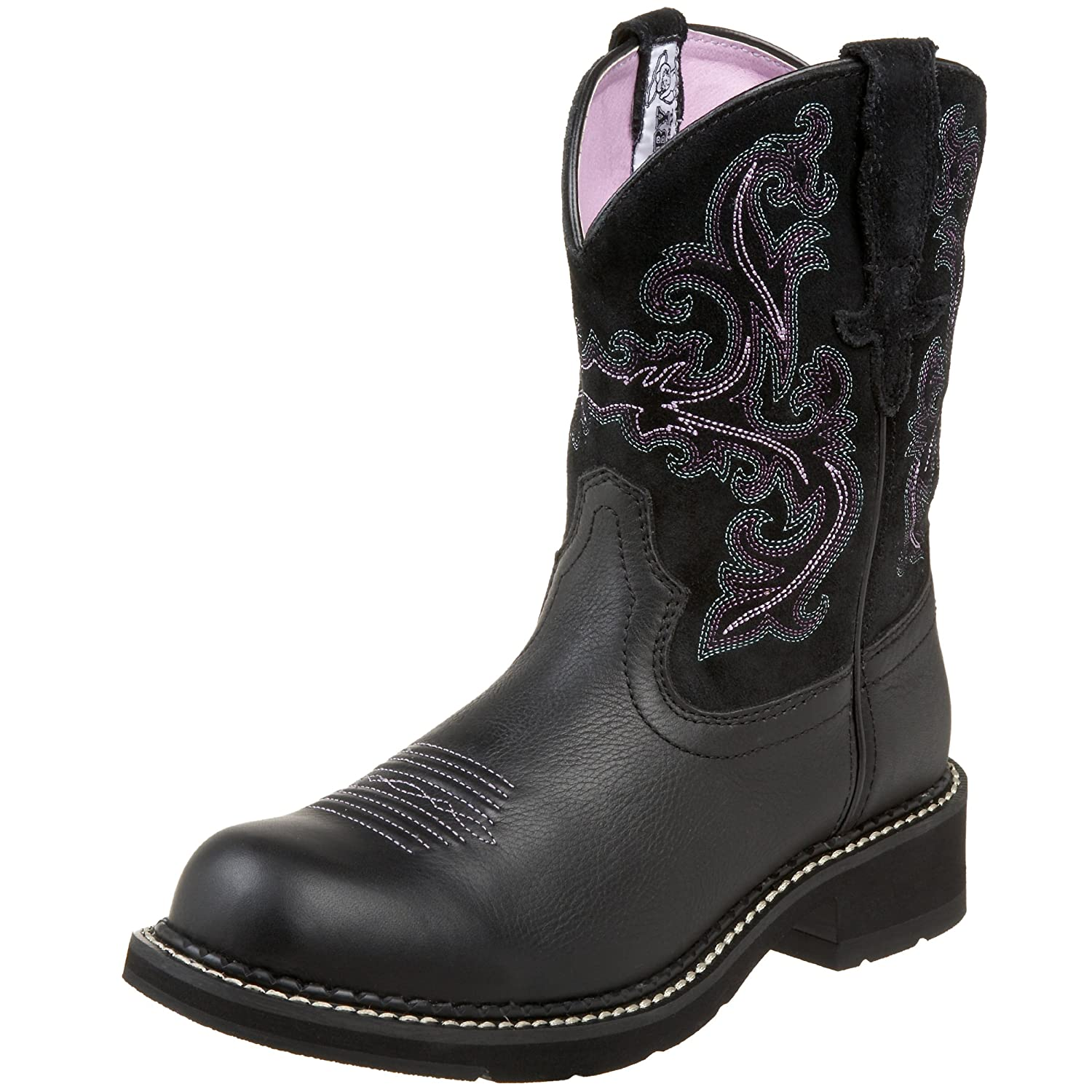 Amazon.com | Ariat Women's Fatbaby II Western Cowboy Boot | Mid-Calf