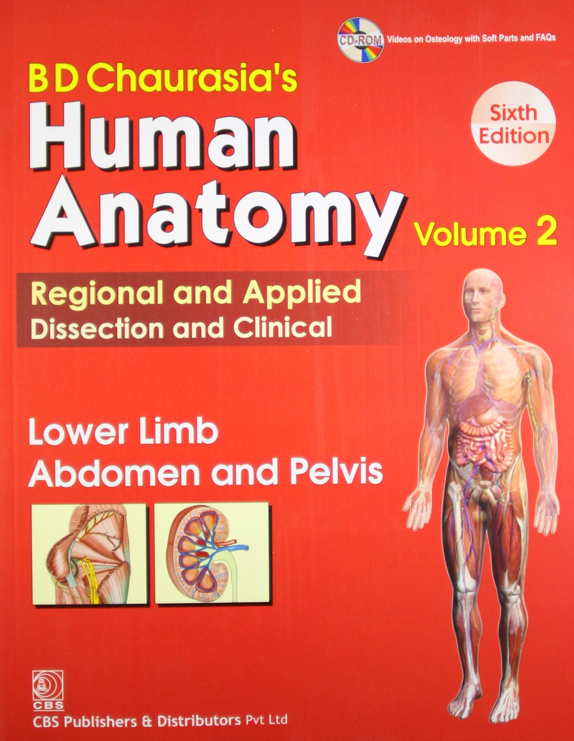 Read Online BD Chaurasia's Human Anatomy Regional and Applied Dissection and Clinical: Vol. 2: Lower Limb Abdomen and Pelvis ebook