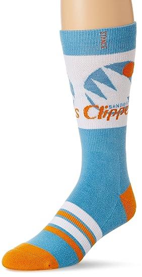 Stance Postura Calcetines Hombres de San Diego Clippers NBA madera Classic de calcetines Azul azul: Amazon.es: Ropa y accesorios