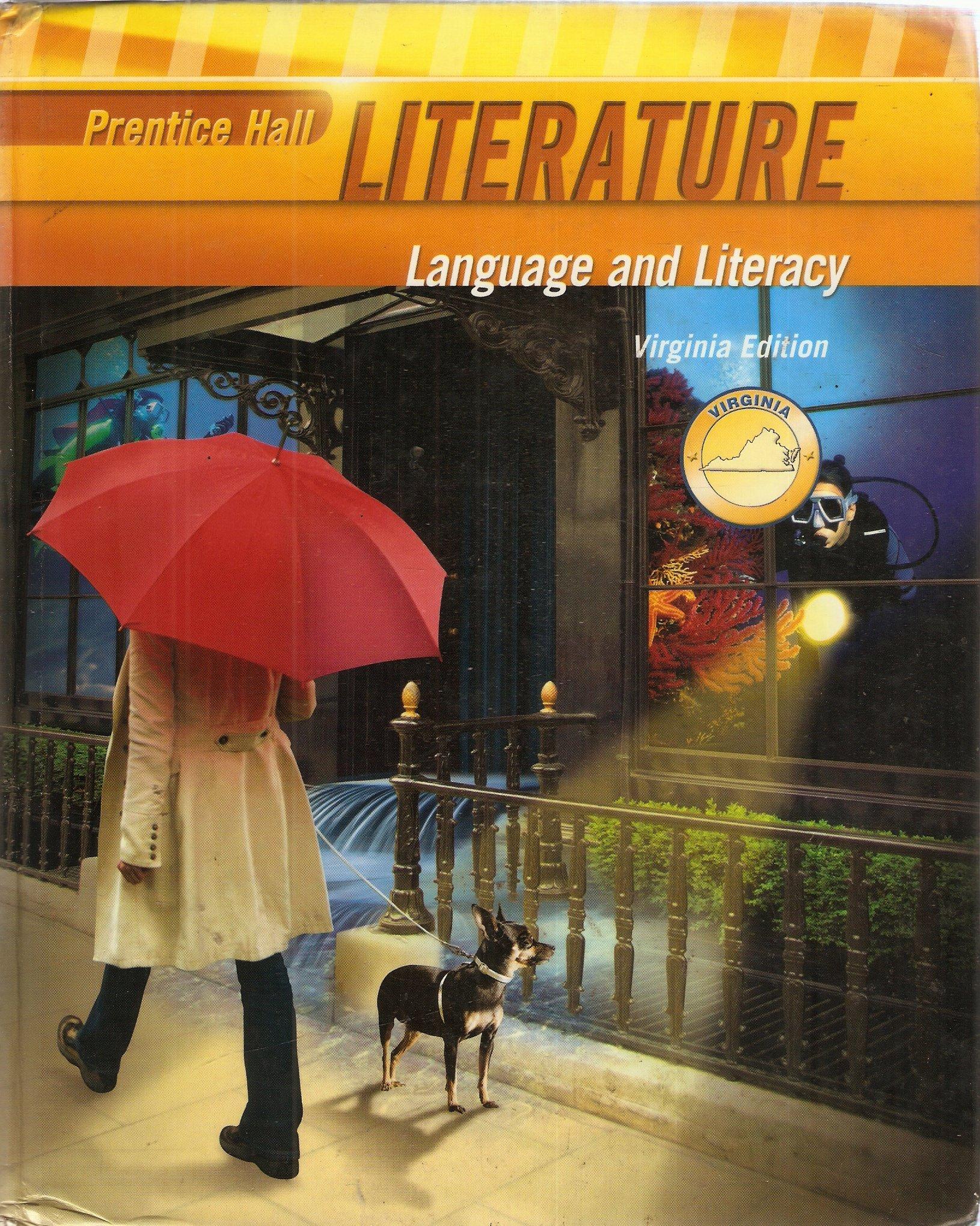 Prentice Hall Literature, Language an Literacy, Grade 6 (Six), Custom Edition for Virginia pdf