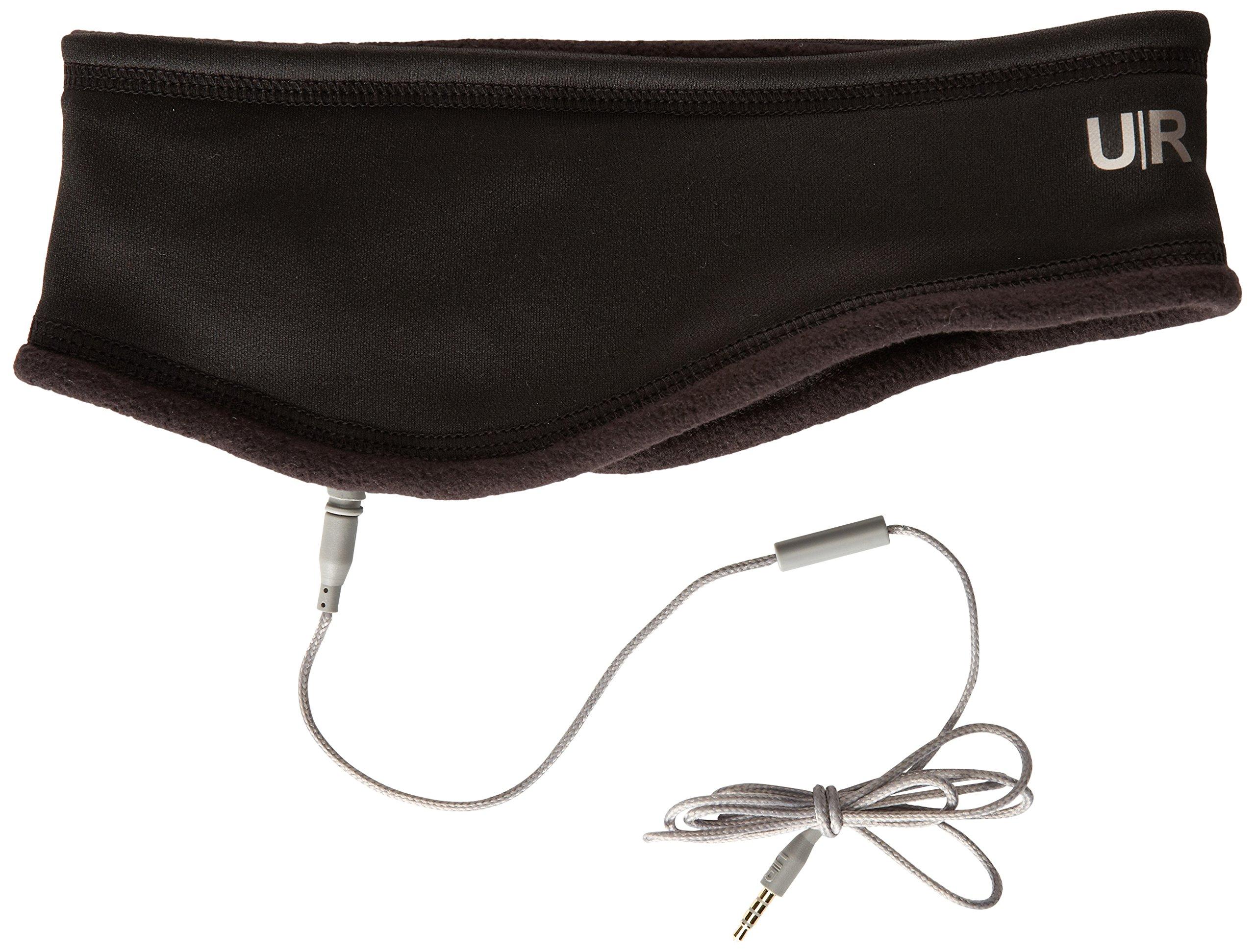 U|R Men's Cole Ative Stretch Audio Headband, Black, One Size