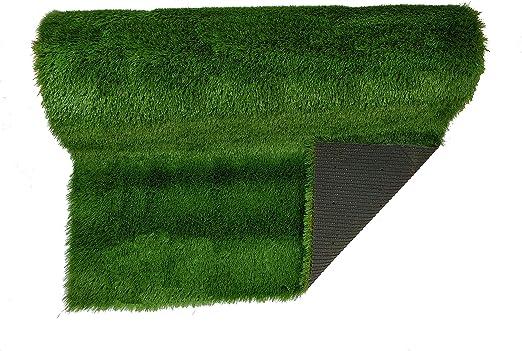 Gardiun KCC40105 - Césped artificial en rollo 100x500 cm Clover ...