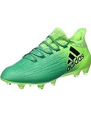 detailed look 84109 3e0ef adidas X 16.1 FG Cuir - Crampons de Foot - Vert SolaireNoirVert