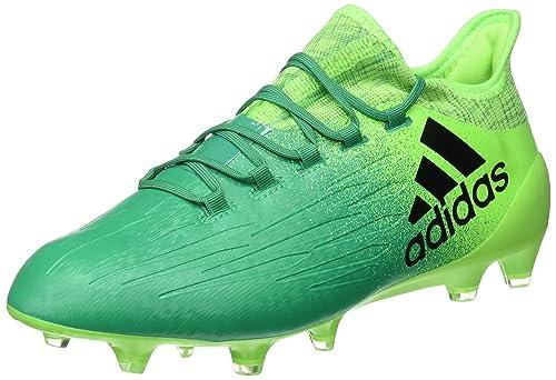 adidas X 16.1 FG, Bota de fútbol, Solar Green Core Black