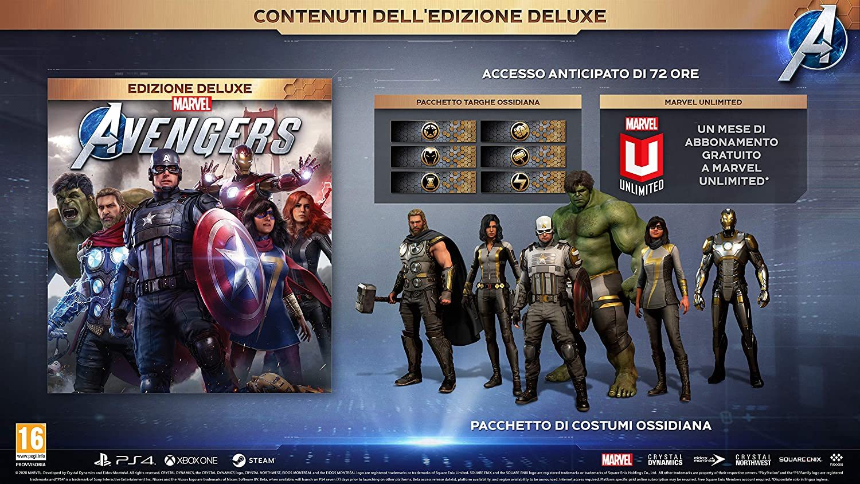 marvel's avengers offerte