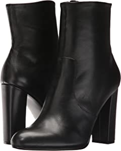f433b5868e9 Women s Editor Ankle Boot. Steve Madden Women s Editor Ankle Boot Black  Leather 9 M US