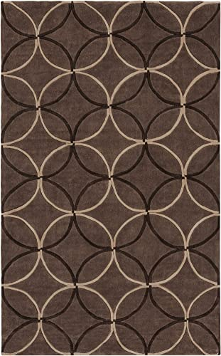 Surya COS-8868 Cosmopolitan Brown 5-Feet