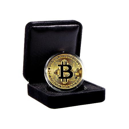Amazon.com: Set de monedas conmemorativas Bitcoin con caja ...