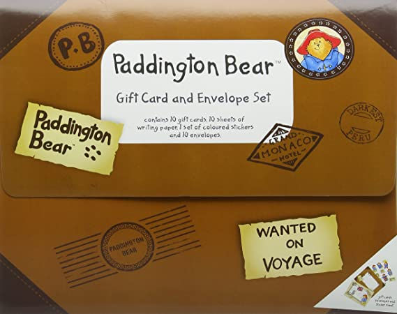 Paddington traditional gift card and envelope set amazon paddington traditional gift card and envelope set amazon office products negle Image collections