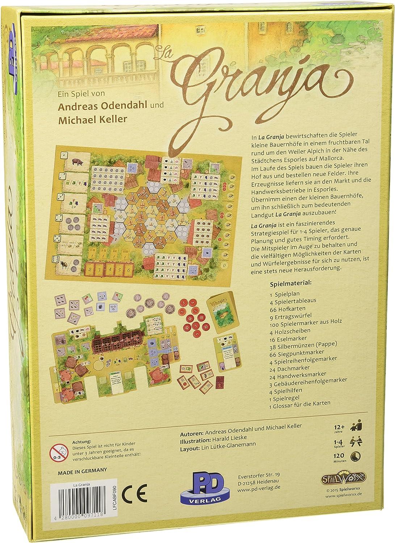 Pd Verlag 9711 - Brettspiel - La Granja - Deutsch: Amazon.es ...